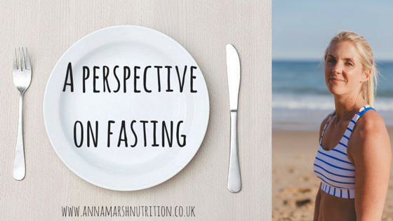 A perspective on fasting